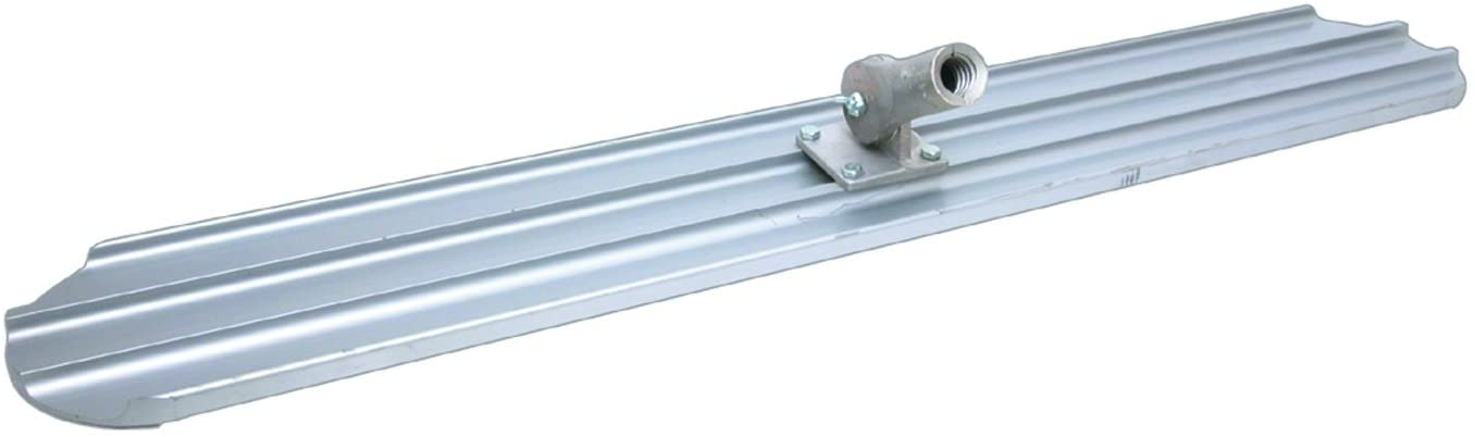 QLT By MARSHALLTOWN MB72R 72-Inch by 8-Inch Round End Magnesium Bull Float
