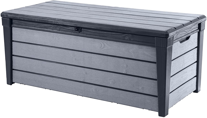 Keter Universal Storage Brushwood Box 455litres, Anthracite/Grey