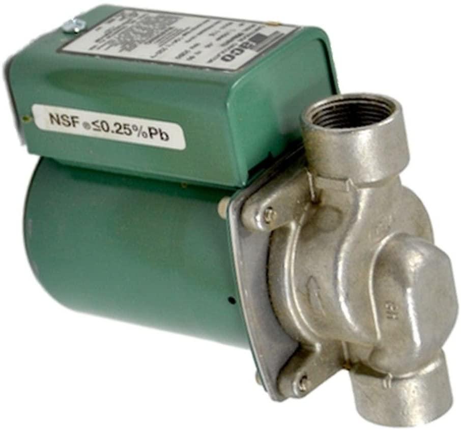 Taco 003 Stainless Steel Circulator Pump, 1/40HP, 3/4 NPT threaded