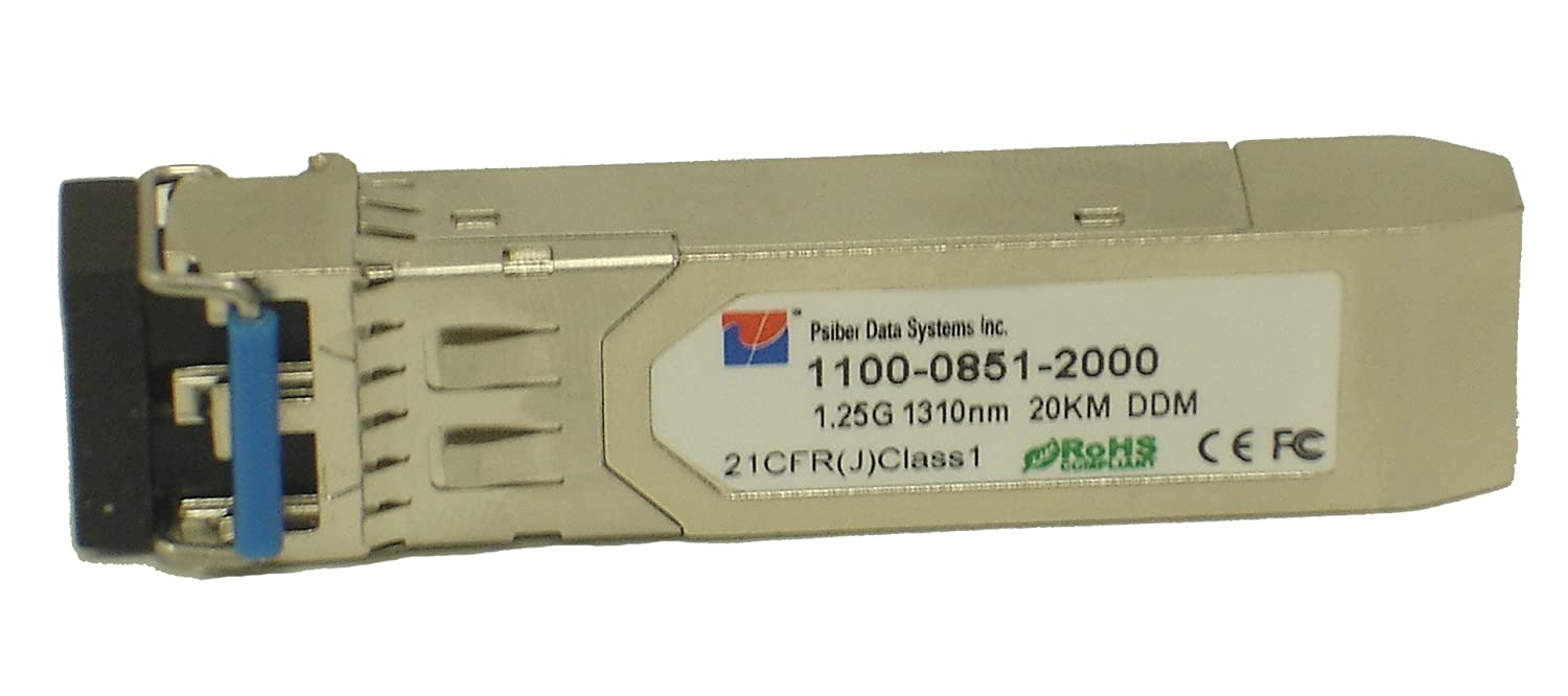 Psiber Data SM-F22EY SFP Tester,SingleMode, 1.25Gb, 1310nM