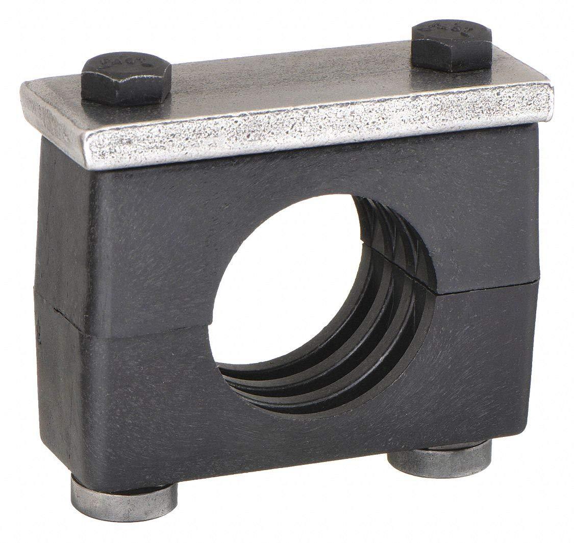 Tube Clamp Kit, Tube 1 3/4In, Carbon Steel