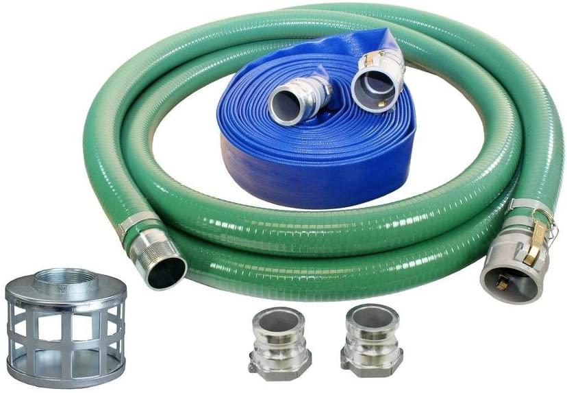 Stanley ST4HK-4000-1145 -SSHS-QC Trash Water Pump Hose Kit, 4