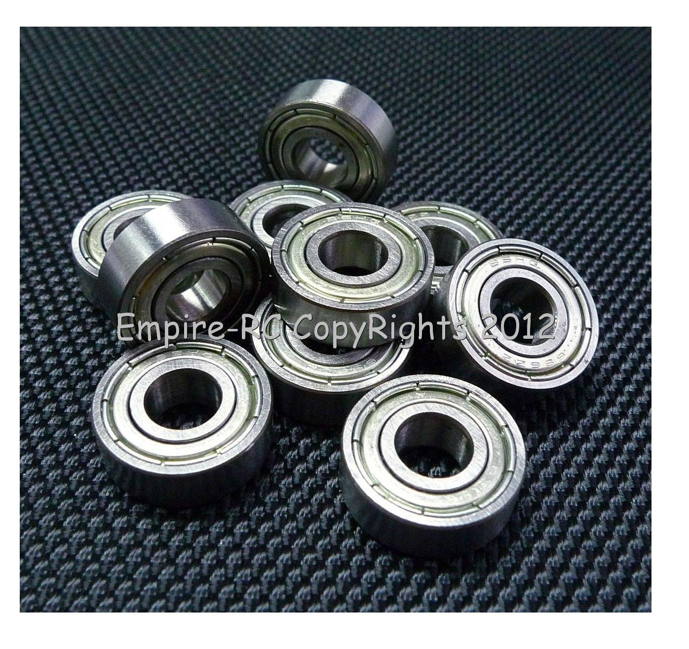 (25 PCS) 696ZZ (6x15x5 mm) Metal Shielded Ball Bearing Bearings 696z