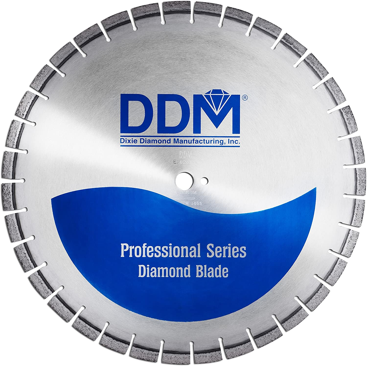 Dixie Diamond Manufacturing C451620155R Professional Wet Cutting Cured Concrete Blade, 20-Inch x 0.155-Inch
