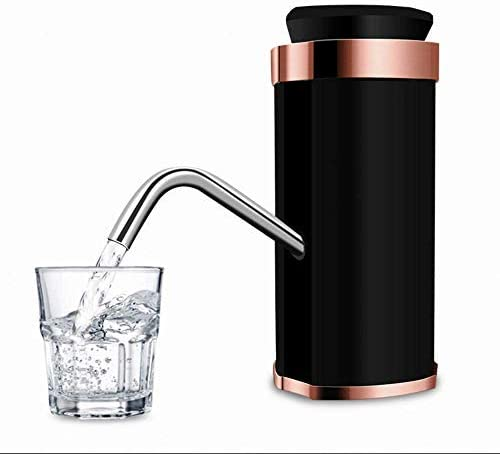Water Bottle Pump, Y & J - Electric Water Press, Rechargeable Household Water Dispenser, Pure Bucket Automatic Water Dispenser, Three-Block Intelligent Adjustment, Dual Motor