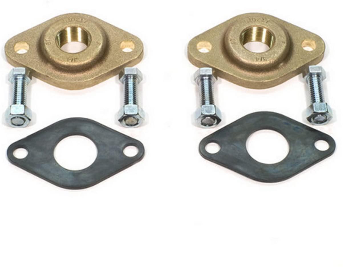 Grundfos 519651 3/4-Inch GF 15/16 Bronze Flange Set