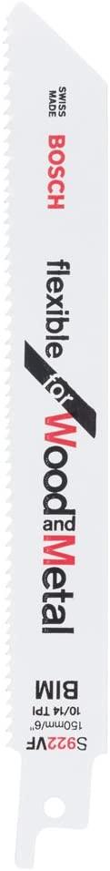 Bosch 2608656040 Sabre Saw Blade S922 VF 2 Pcs