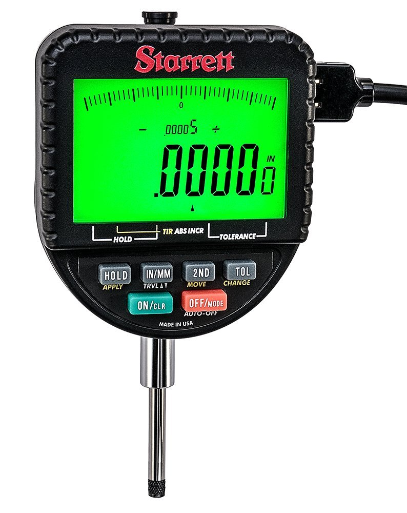 Starrett 2700-801 Backlight Electronic Indicator with 1