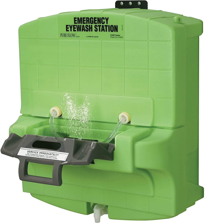 Medique Pure Flow 1000 Emergency Eyewash Station, Model Number 4115