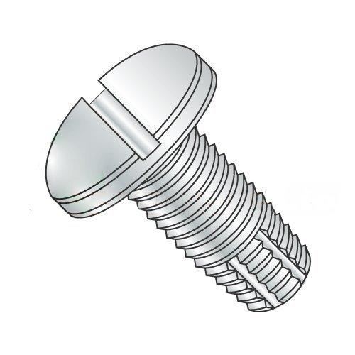 10-24 x 1 Type F Thread Cutting Screws/Slotted/Pan Head/Steel/Zinc (Carton: 6,000 pcs)
