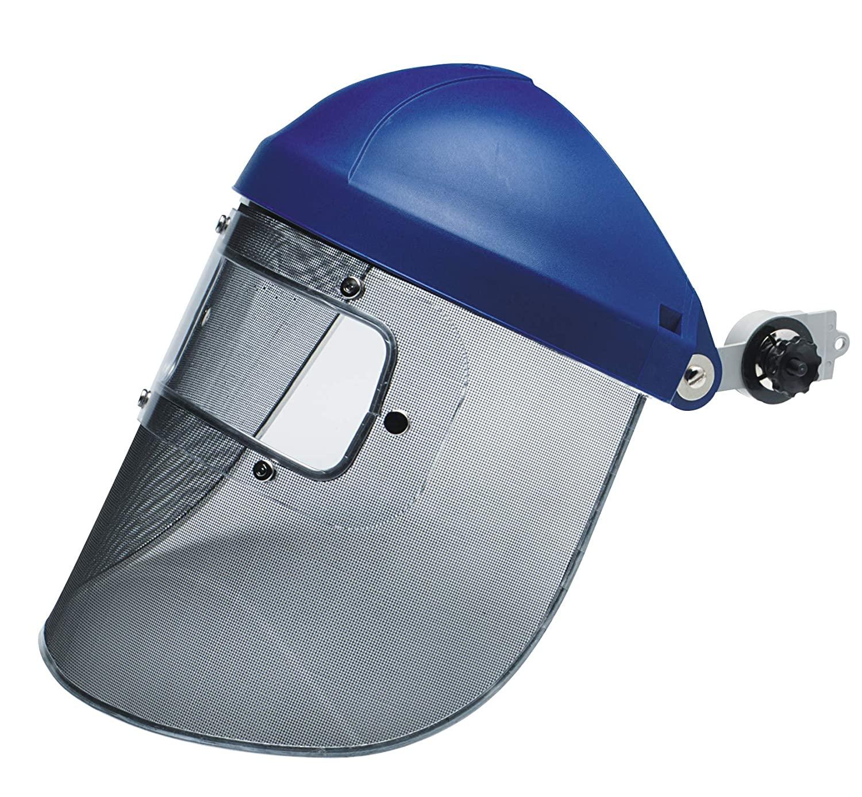 3M 10078371825116 Steel Mesh Faceshield with Eye Shield, Standard, Steel