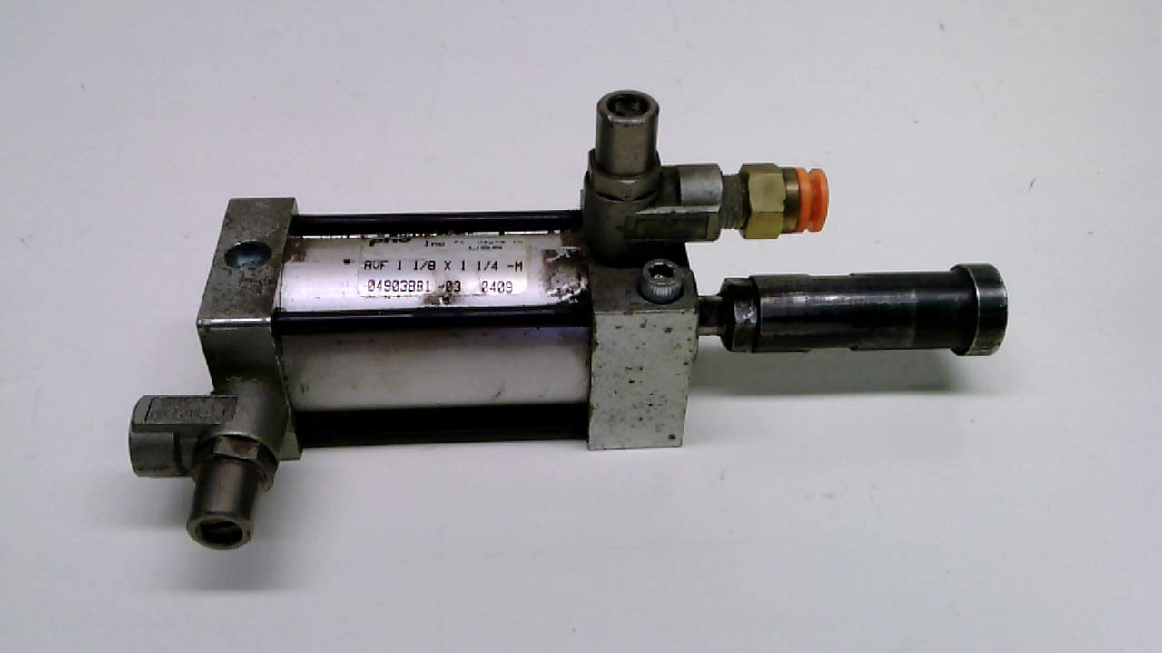 Phd Avf 1 1/8 X 1 1/4-M Attached Part As2200, Tie-Rod Cylinder, 150Psi Avf 1 1/8 X 1 1/4-M with Attached Part Number As2200
