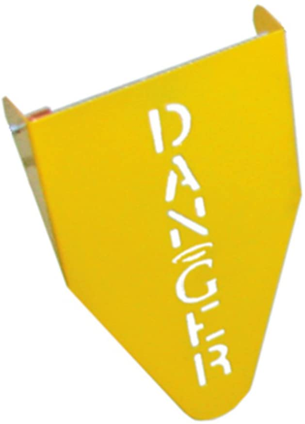 Guardian Fall Protection 15038 Stamped Steel Warning Flag