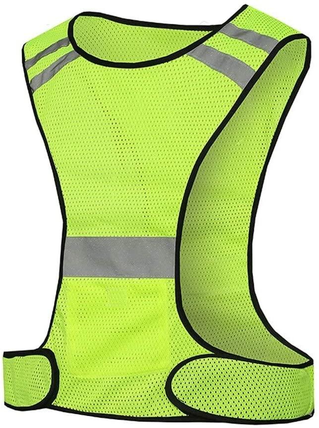 Safety Vest Reflective Safety Vest, Warning Vest Breathable Mesh Simple and Comfortable Overalls Night Travel Safety High Visibility Vest Child Safety Vest
