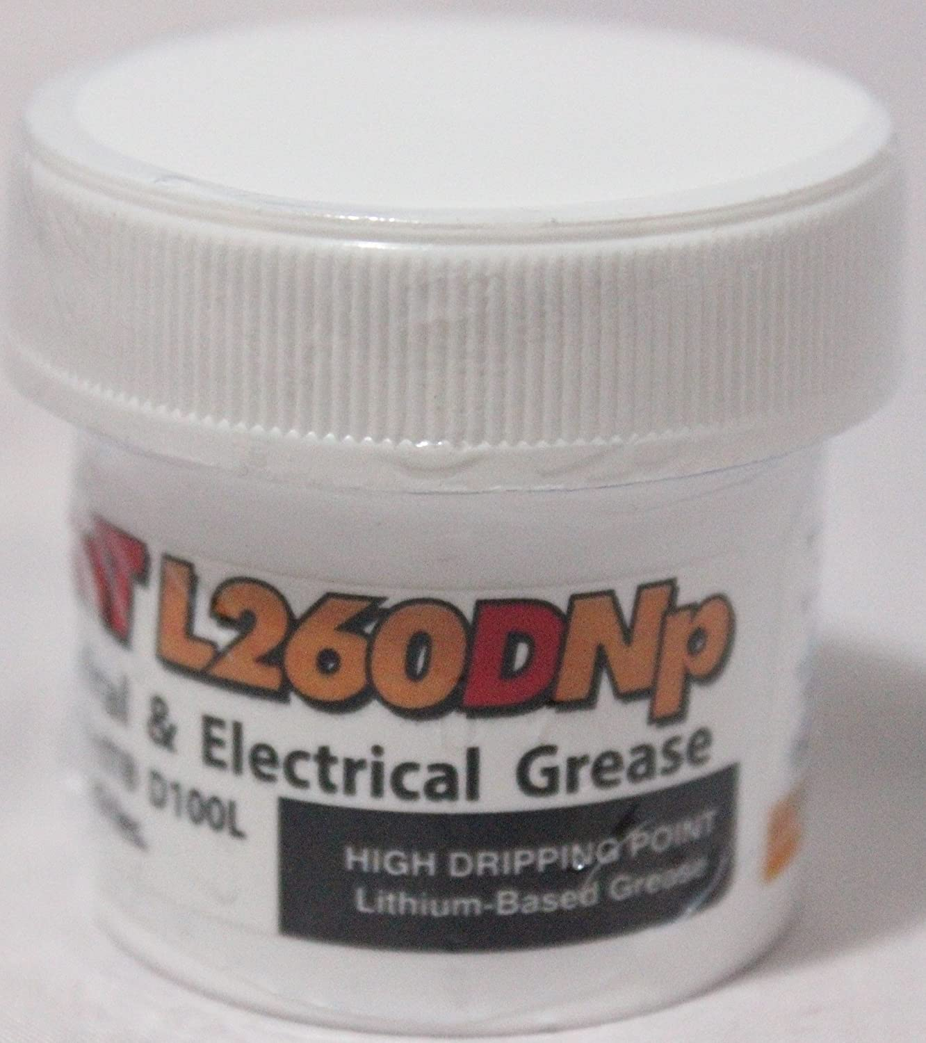 Deoxit L260DNp Plus Mechanical and Electrical Grease - Infused with DeoxIT D100L to help break up oxidation - 28 gram jar