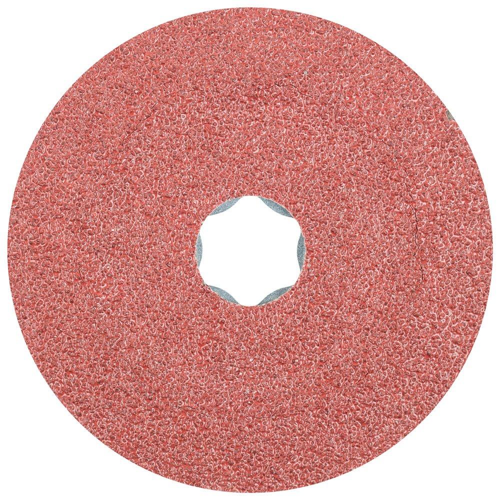 PFERD 40085 Combiclick Fibre Disc, Aluminum Oxide A Type, 4