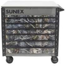 Sunex Tools (SUN8057TTKANATI) Sunex Tools Premium Full-Drawer Tool Cart, True Timber Kanati Design