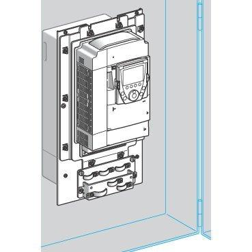 SCHNEIDER ELECTRIC VW3A9504 Flange kit ATV61-71:HU75M3