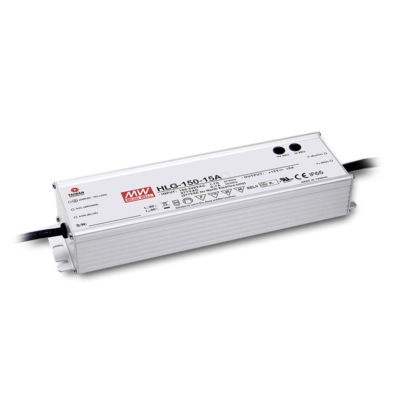 LED Driver Single Output Switching Power Supply 150 Watt 42V @ 3.60A A Model, 150W