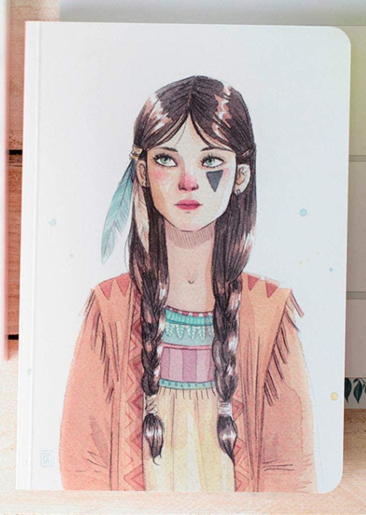 cuquiland cegt–Notebook with Design Esther Gili tigrilla, 16.5x 23.5cm