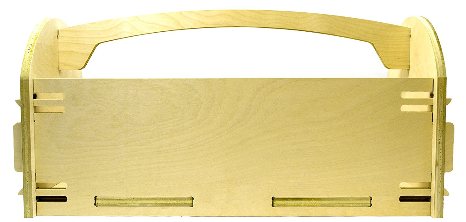 Classic Wooden Toolbox Made in America 22.25
