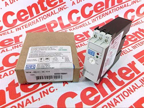 WEG RTW-CID.01-30-E12 Timing Relay Symmetric Flash 3-30S SPDT 24V AC/DC