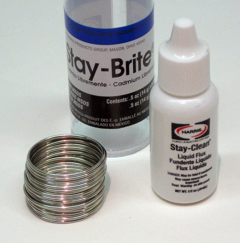 STA-BRITE SBSK Silver Solder 3/64 1/2 oz STAR2000 by Stay-Brite