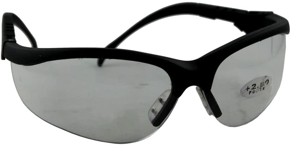 Bifocal Safety Glasses +2.00