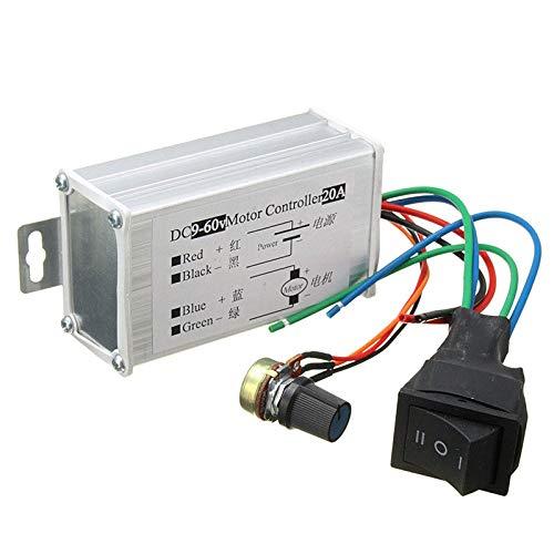 DC 12V 24V 36V 48V Soft Start Reversible Motor Speed Control PWM Controller PWM Hot Sale
