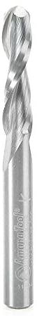 Amana Tool - 46376 Solid Carbide Up-Cut Ball Nose Spiral 1/4 Dia x 1