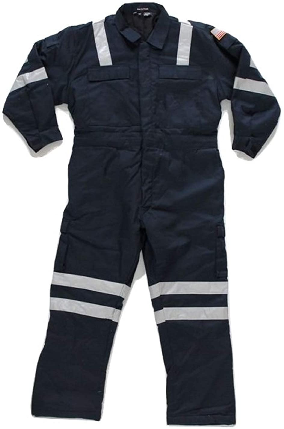Premium High Visibility Hi Vis Coveralls with Leg Zipper