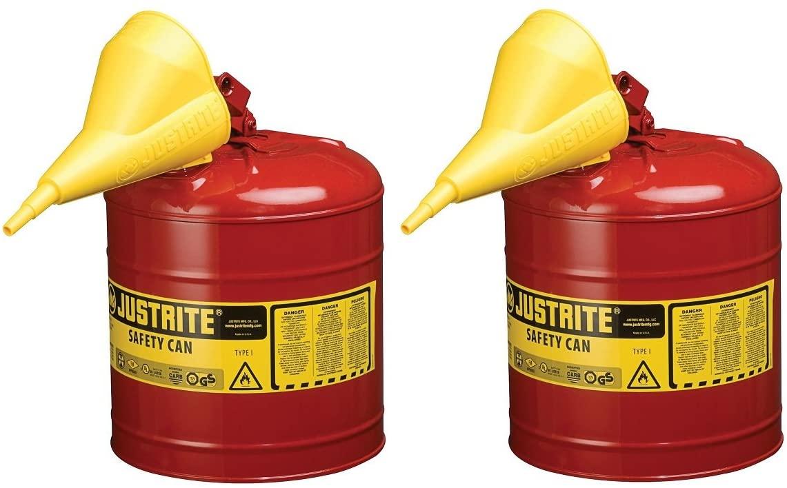 Justrite 7150110 5 Gallon, 11.75