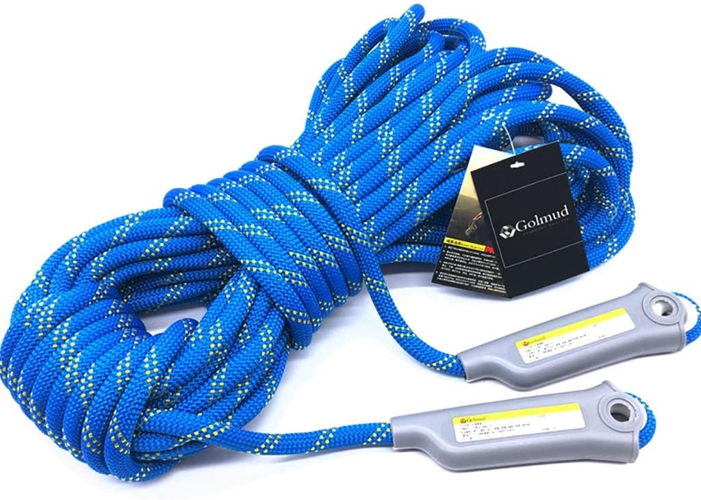 HW Ropes Rope Outdoor Climbing Rope, 12/11mm Safety Rope Climbing Rappelling Rope Climbing Rope Nylon Rope Escape Equipment, 30m/20m/15m/10m/5m (Size : 12mm-15m)