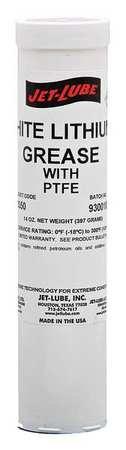 Jet-Lube White Lithium Grease 14 oz Cartridge