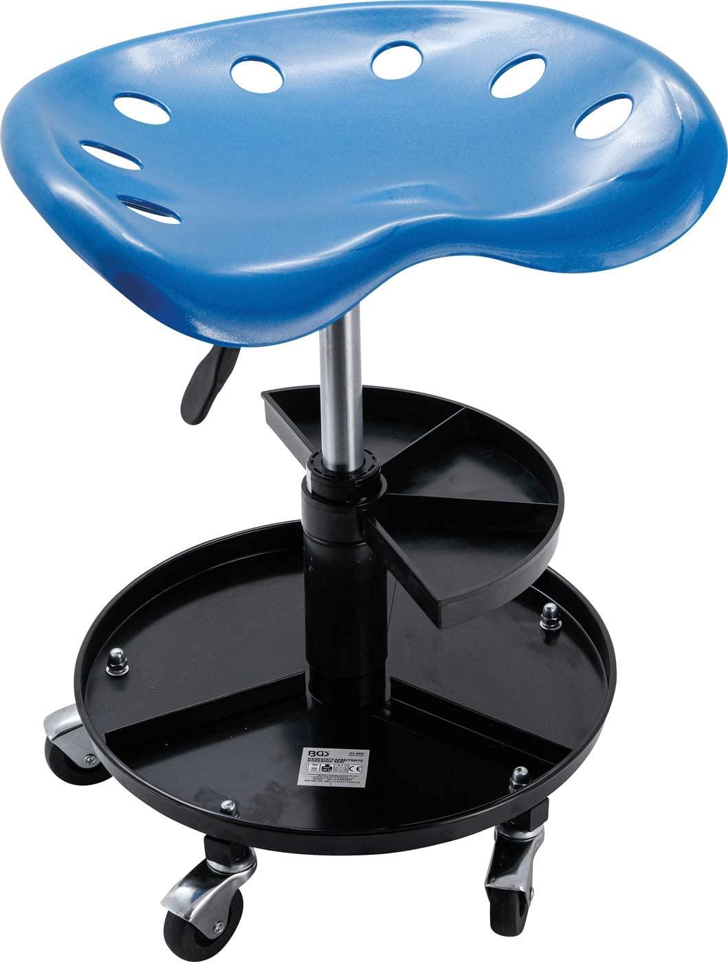 BGS Technic BGS 6820 Workshop Work Seat 2 Shelves ABS 440 x 350 mm