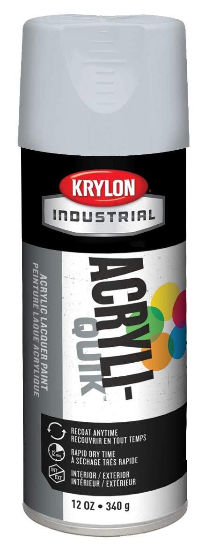 Krylon Acryli-Quik Acrylic Lacquer Pewter Gray