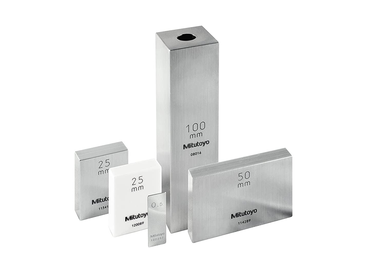 Mitutoyo 611308-516 Steel Rectangular Gage Block, ASME Grade K, 0.008