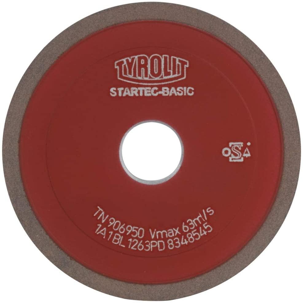 Tyrolit Tyr-49505802795AA Grinding Disc 4BT9125X10X20BL1263PD Startec Basic