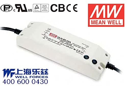 Meanwell HLN-80H-54B Power Supply - 80W 54V 1.5A - IP64 - Dimmable