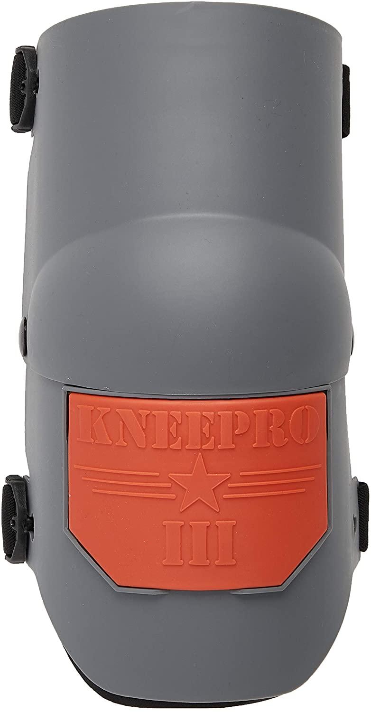 KP Industries Knee Pro Ultra Flex III Knee Pads - Gray and Orange