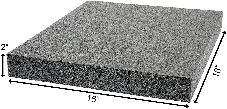 Case Club Customizable Polyethylene/Polyurethane/Convoluted Foam 18 x 16 Inches
