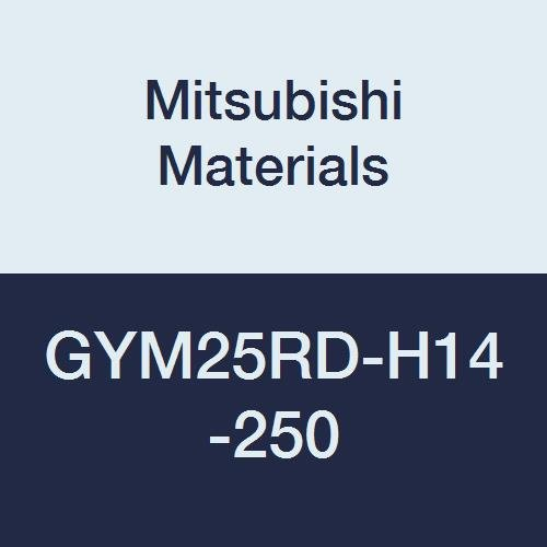 Mitsubishi Materials GYM25RD-H14-250 Face Grooving Holder, Modular Blade, M25 Size, Right Hand, 0.187/0.197/0.206 Seat, 0.551 Grooving Depth, 9.843 Grooving Diameter