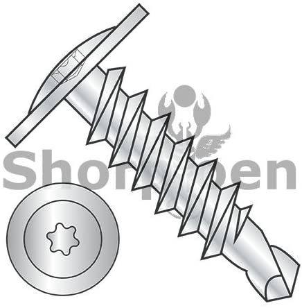1/4-14X3/4 6 Lobe Modified Truss Head Self Drilling Screw Full Thread Zinc and Bake - Box Quantity 2000 by Shorpioen BC-1412KTM