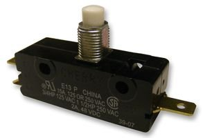 CHERRY 0E1300J0 MICRO SW, SPRING PLUNGER, SPDT, 15A 250V (10 pieces)