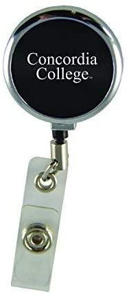 LXG, Inc. Concordia University Chicago-Retractable Badge Reel-Black