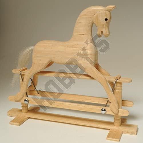 Hobbys Rocking Horse Miniature Matchstick Model Craft Kit