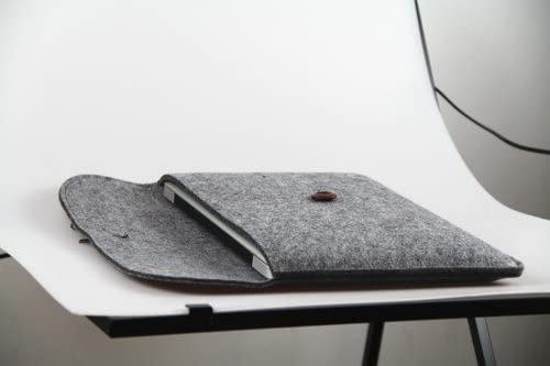 11.6 inch Macbook Air / Felt Sleeve Carrying bag for Apple Macbook Air / Dark Grey