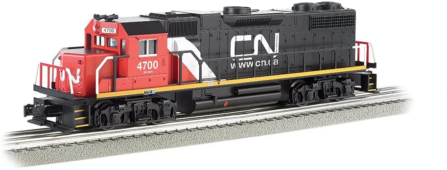Bachmann Industries General Motors GP 38 Scale Diesel Locomotive Canadian National 4700 O Scale Train