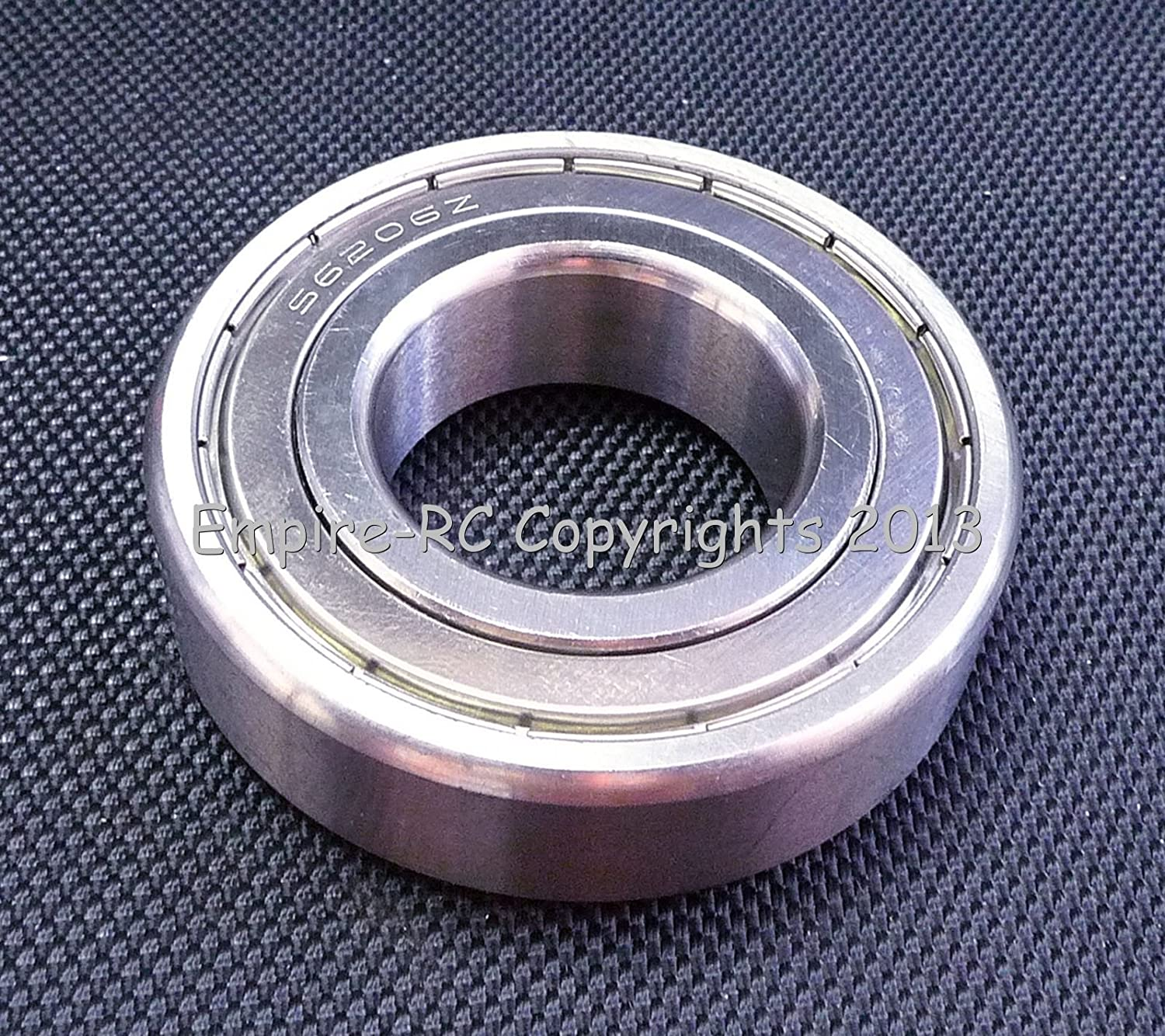 1 PCS 440c Stainless Steel Shielded Ball Bearing (S6205ZZ 6205ZZ) (25x52x15 mm) /item# G4W8B-48Q41604