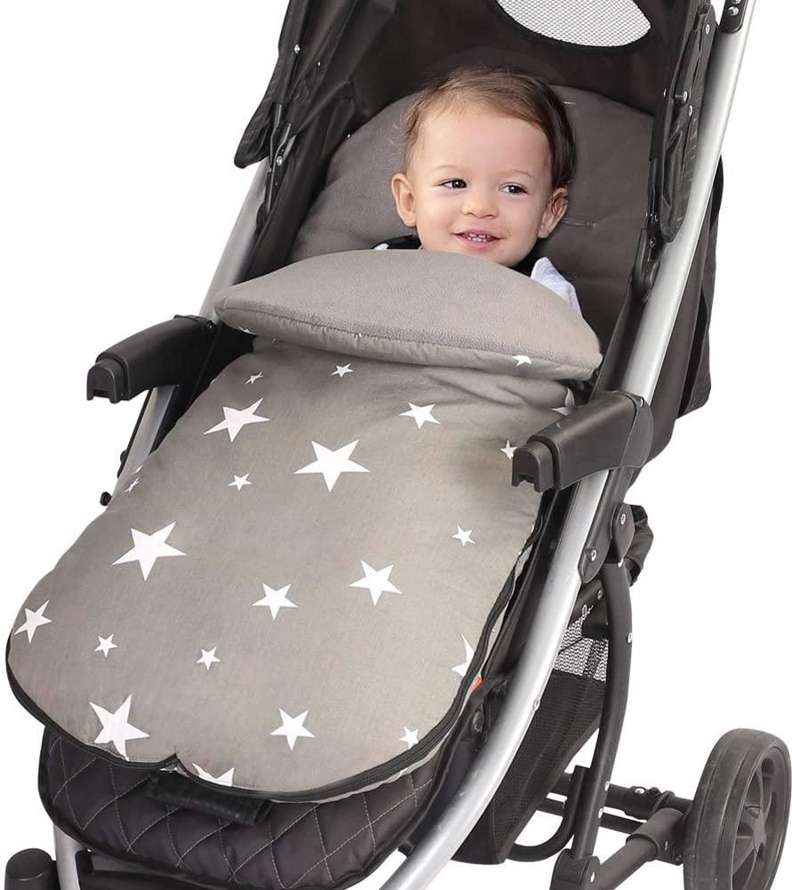 LZiioo Winter Windproof Infant Baby Stroller Sleeping Bag Footmuff Car Seat Bunting Bag Stroller Carriage Foot